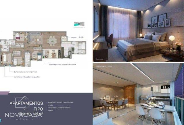 Apartamento com 4 dormitórios à venda, 145 m² por R$ 2.136.464,00 - Santo Antônio - Belo H - Foto 12