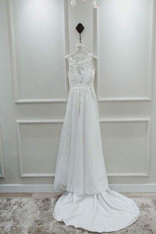 Vestido de noiva manequim 36