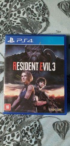 Resident evil 3 (150 reais).