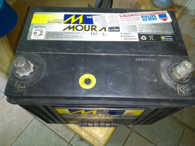 Bateria Moura de 80 amperes