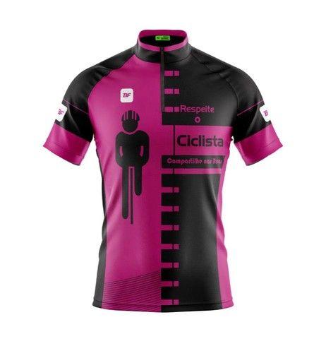 Camisas e bermuda feminina de ciclismo  - Foto 3