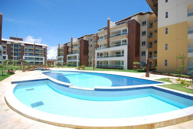 Gran Sol Resort - Porto das Dunas. Apartamento com 3 quartos