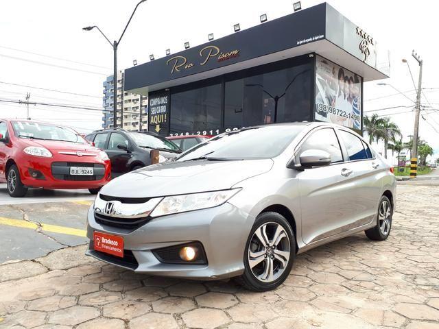 Honda City EXL 1.5 Automático- Top de Linha - Super Novo - Aceito seu carro e Financio