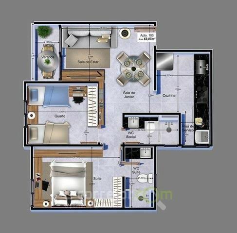 Apartamento para vender, Jardim Cidade Universitária, João Pessoa, PB. Código: 00788b - Foto 11