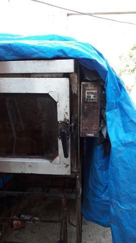 Vendo esse forno eletrico 5 telas valor 1.000 reais - Foto 2