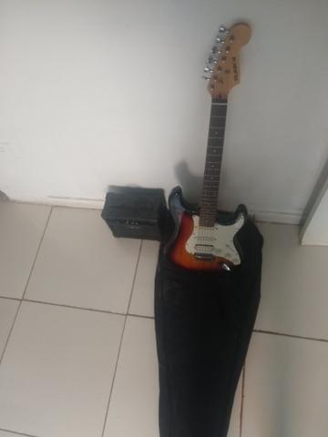Guitarra com cubo é case - Foto 4