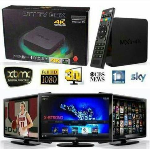 Android Tv Box- Mxq 4k- 2gb de RAM e 16gb de ROM