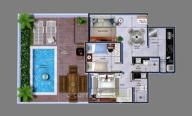 Apartamento para vender, Jardim Cidade Universitária, João Pessoa, PB. Código: 00788b - Foto 12