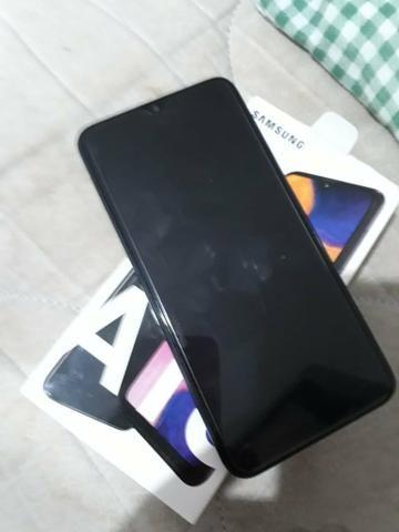 Samsung A 10 com película e nota fiscal