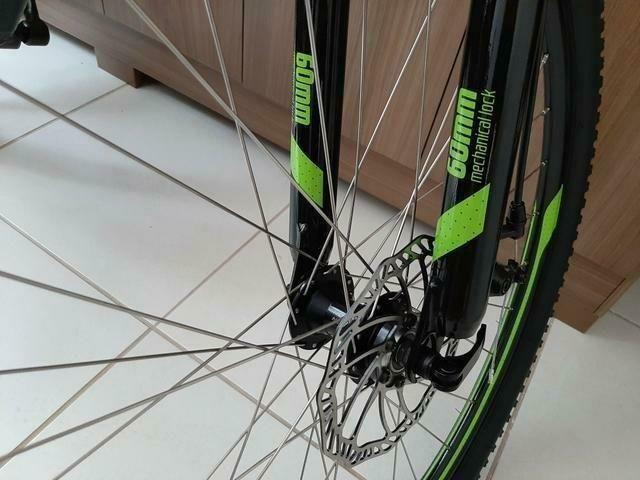 Bicicleta Caloi 29 Suspensão c/Trava Freio a Disco (Lacrada) Nota Fiscal - Foto 3