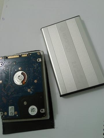 HD de notebook + Case