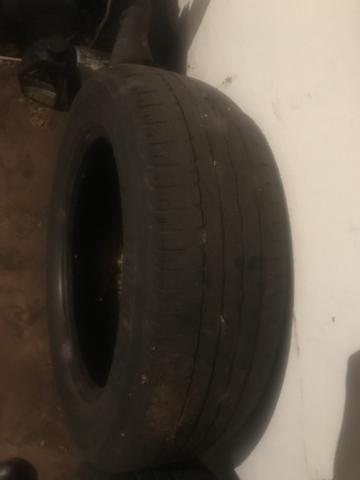Pneu 185/60/15 Bridgestone meia vida - Foto 3