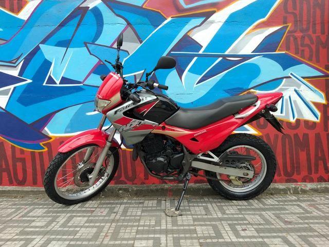 Honda nx4 falcon 2005 troco por moto de menor cilindrada - Foto 12