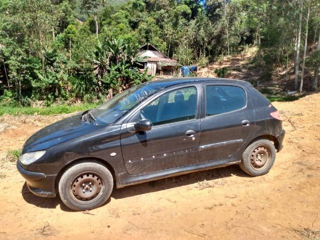 Peugeot 206, ano 2002/2003, 1.0, gasolina - Foto 4