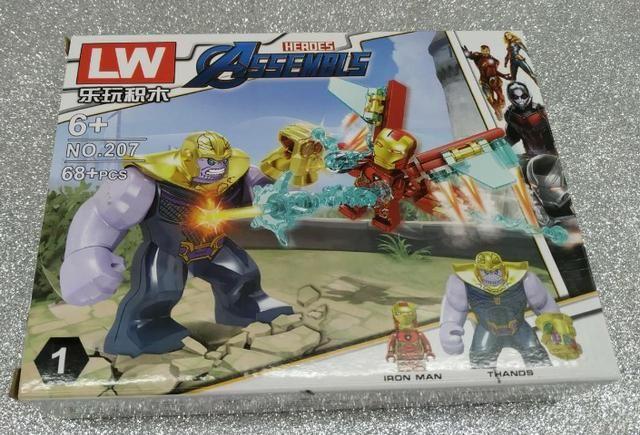 Lego Compatível Vingadores Ultimato