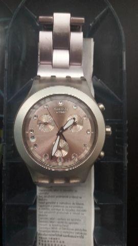 7cfd430329 Relógio Swatch Irony Diaphane - Bijouterias