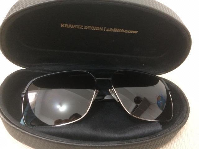 2a08bc2714c6a Óculos de Sol Masculino Chillibeans Original Coleção Kravitz Design (Semi  Novo) com caixa