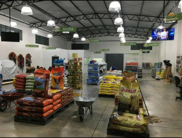Passo ponto - Loja agropecuária montada e fábrica de nutrição animal arrendada