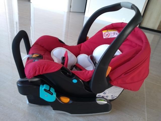 Bebê Conforto Chicco com base, 10 meses de uso