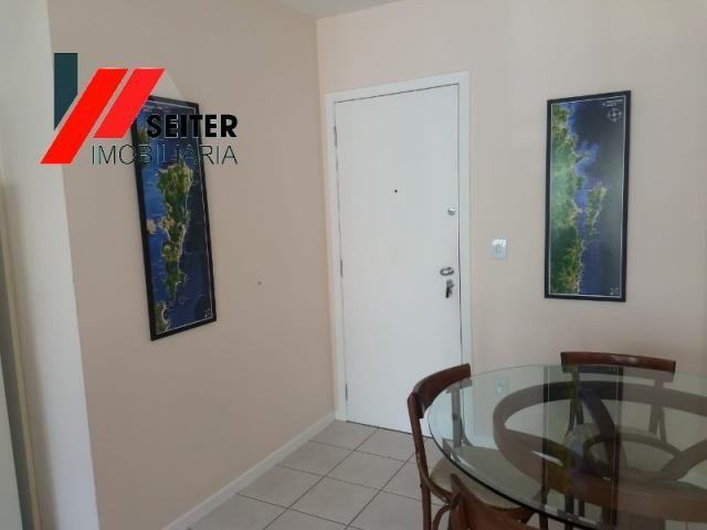 Apartamento mobiliado de 2 dormitorios suite e sacada com churrasqueira no itacorubi - Foto 13