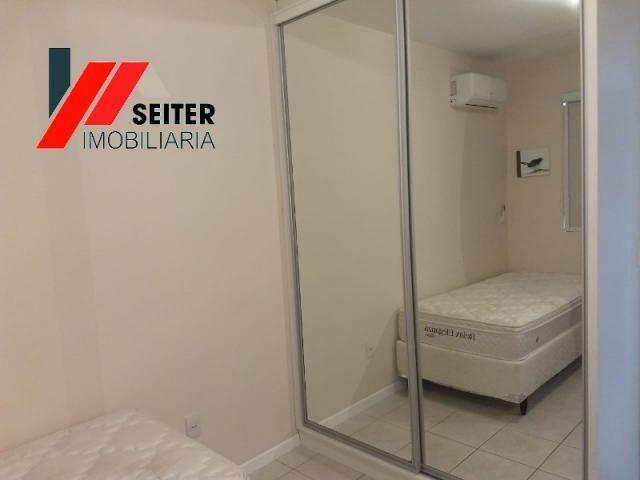 Apartamento mobiliado de 2 dormitorios suite e sacada com churrasqueira no itacorubi - Foto 15