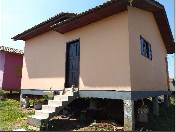 Casa com 2 dormitórios à venda, 50 m² por R$ 73.671,02 - Vila Franca - Forquilhinha/SC