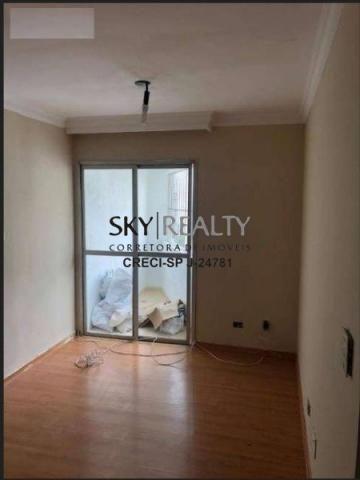 Apartamento à venda com 2 dormitórios em Vila guarani (z sul), Sao paulo cod:11986