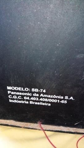 Um par de caixa de som Panasonic - Foto 4