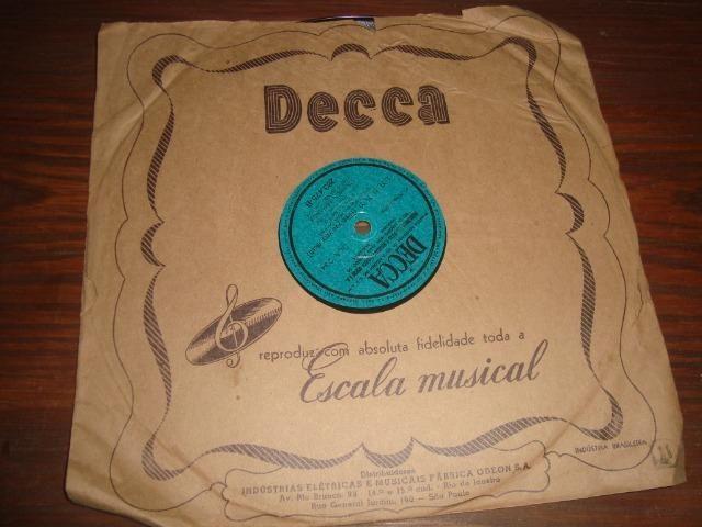 Carmem Miranda, Preço para Lote com 5 discos 78 rpm de 10 pol - Foto 3