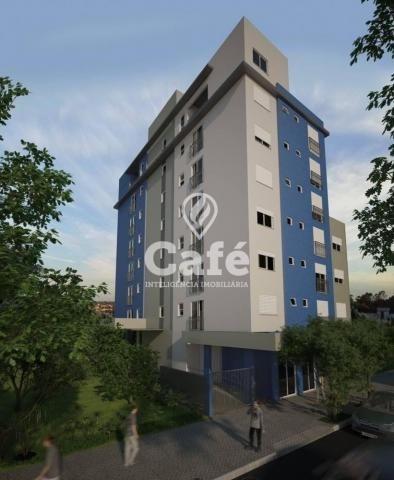 Apartamento à venda com 1 dormitórios em Centro, Santa maria cod:0777 - Foto 2