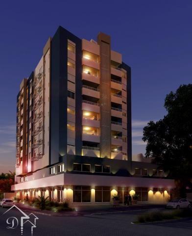 Apartamento à venda com 3 dormitórios em Nossa senhora de lourdes, Santa maria cod:10142 - Foto 2