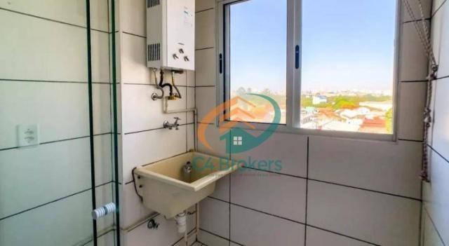 Apartamento com 2 dormitórios para alugar, 45 m² por R$ 1.547,00/mês - Ponte Grande - Guar - Foto 19