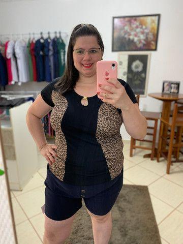 Blusa Plus-Size - Foto 2