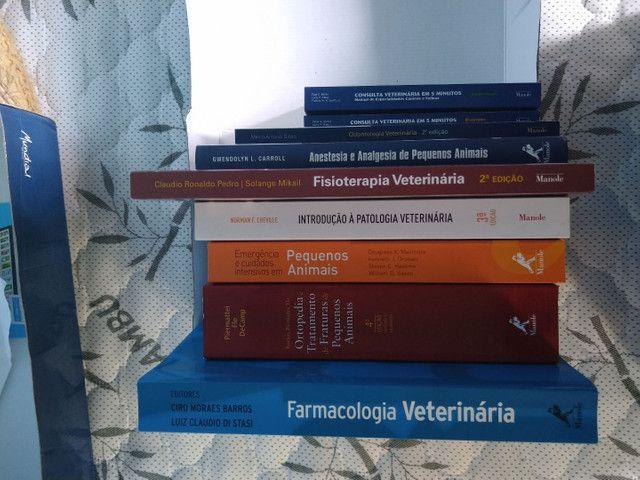 Livros de Veterinária. Coleção completa.