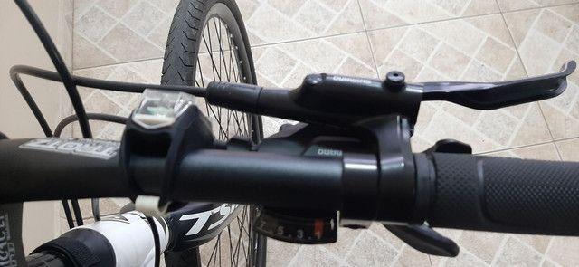 Bike hibrida. 2 meses de uso. vendo ou troco por speed.R$1.800,00 - Foto 4