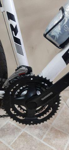 Bike hibrida. 2 meses de uso. vendo ou troco por speed.R$1.800,00 - Foto 5