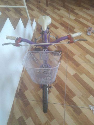 Bieleta feminina nova pneus novos ,rodinhas e sextinha ,valor 300,tel * - Foto 2