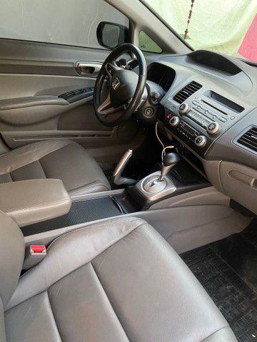 Honda civic flex 2011 automático - Foto 6
