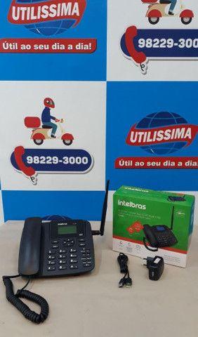 Kit Celular Rural Aquário Telefone + Cabo + Antena ? Entrega Gratis * - Foto 3