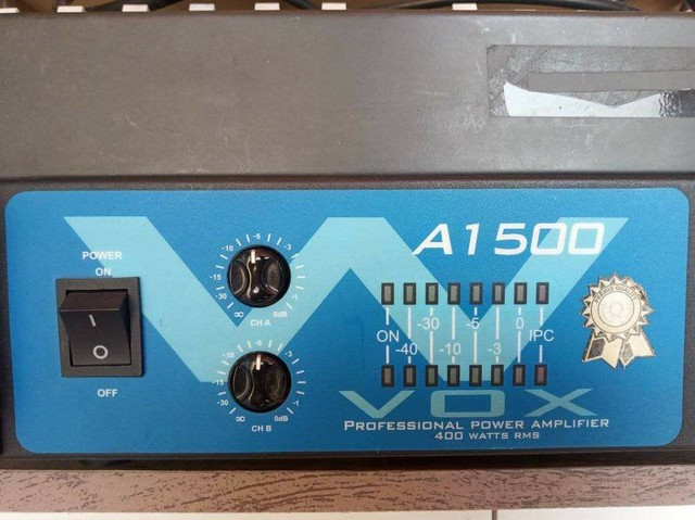 Mesa de som, 16 canais + potência de som 400 WRMS - Foto 3