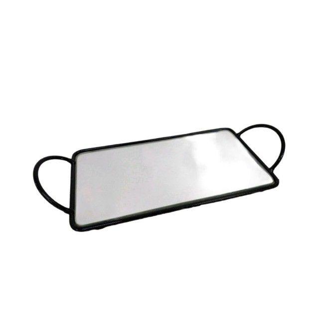 Bandeja Espelhada Para Banheiro Super Luxo