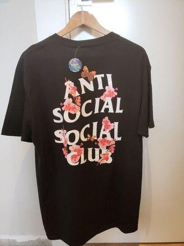 Camiseta assc kkoch preta - Foto 2
