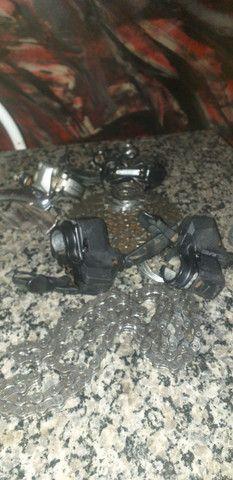 Vendo peças pra bike usadas - Foto 2