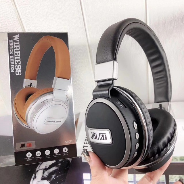 Fone Tipo JBL Studio Bluetooth Mp3 Rádio Fm 560BT Stereo Potente - Foto 4