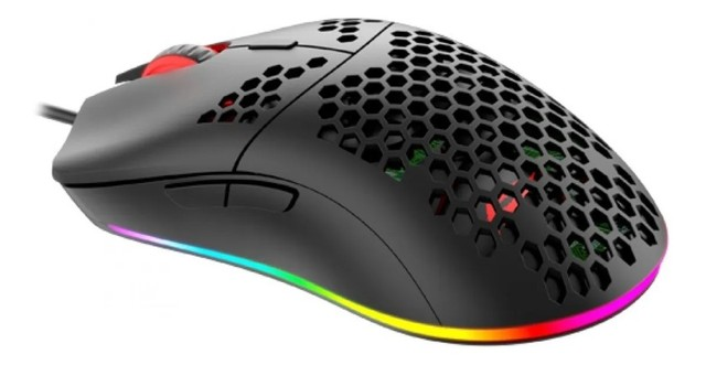 Mouse Gamer Havit Ms1023 6400dpi Rgb - Loja Natan Abreu  - Foto 2