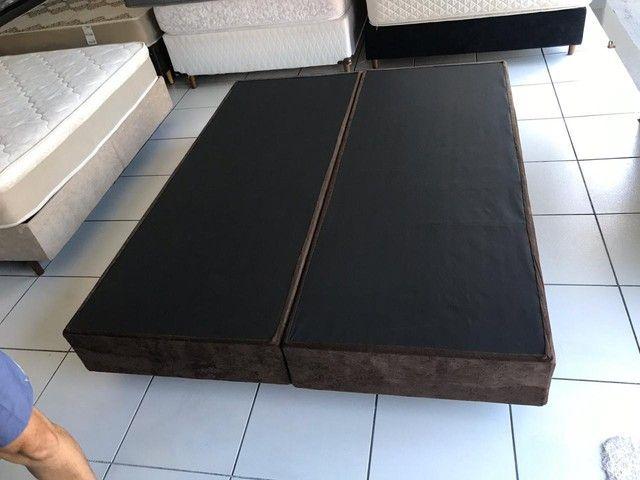 Base box queen SIZE 1,98 x 1,58m - entregamos hoje  - Foto 2