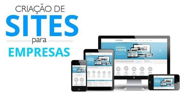 crio site e e-mail profissional