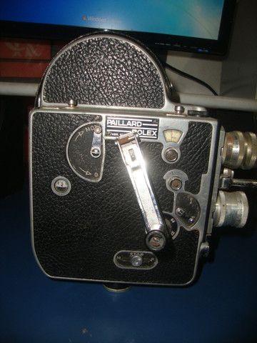 Filmadora 3 lentes rara - Foto 3