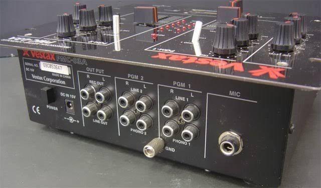 Mixer Vestax pmc 03A ( raridade ) - Foto 2