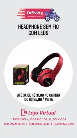 Headphones Bluetooth Diversos